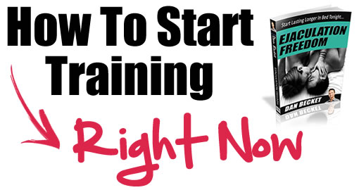 How To Start Training With The Ejaculation Freedom Program